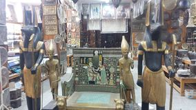 Sklep Kair, Egipt zdjęcia royalty free