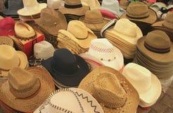 sklep kapelusza Obraz Royalty Free