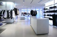 sklep odzieżowy zdjęcia stock