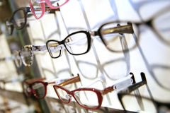 sklep optyczne Zdjęcia Royalty Free