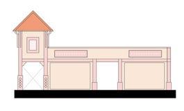 sklep partii royalty ilustracja