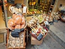 sklep spożywczy Italy sklep fotografia stock