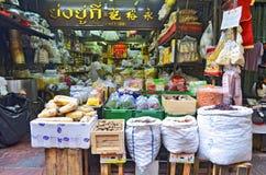 Sklep spożywczy w Chinatown Bangkok Fotografia Stock