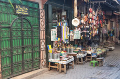 Sklep w Medina Marrakesh Obraz Royalty Free