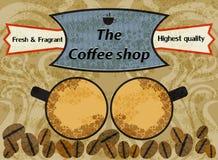 Sklep z kawą Zdjęcia Stock