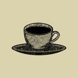 Sklep z kawą loga wektor Zdjęcie Stock
