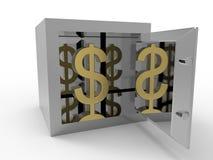 Sklepieniowy dolarowego znaka pojęcie Zdjęcia Royalty Free