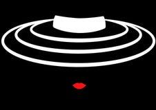 Sklepowa logo mody kobieta Firma loga projekt Fotografia Stock
