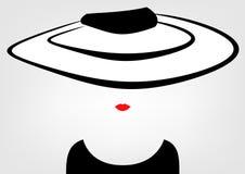 Sklepowa logo mody kobieta Firma loga projekt Zdjęcie Royalty Free