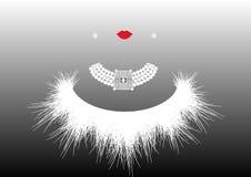 Sklepowego loga mody luksusowa kobieta Firma loga biżuterii projekt, ilustracja Fotografia Stock