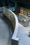 Sklepowy bookstore przy nowym kulturalnym centrum Isla De Los angeles Cartuja seville Spain Zdjęcie Royalty Free
