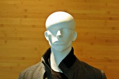 sklepowy mannequin okno Obraz Royalty Free