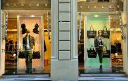 sklepowy mody sisley Fotografia Royalty Free