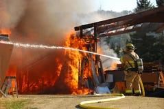 Sklepowy Ogień Zdjęcie Royalty Free