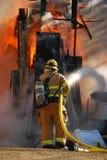 Sklepowy Ogień Fotografia Stock