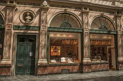 Sklepowy okno w Galeries Royales Hubert przy Bruksela Zdjęcia Stock