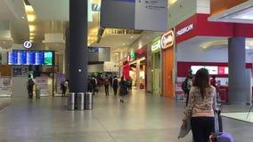 Sklepy przy Changi airpor w Singapur zdjęcie wideo