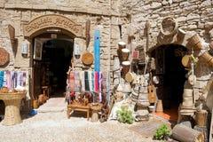 Sklepy przy Essaouira obrazy stock