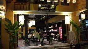 Sklepy przy Hoi, Wietnam zbiory wideo