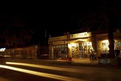 Sklepy przy nocą, Etiopia Obrazy Royalty Free