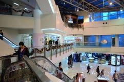 Sklepy w Metroplaza Kwai Fong, Hong Kong Zdjęcia Royalty Free