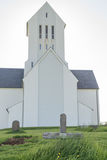 Skálholt church, Iceland. Royalty Free Stock Photos