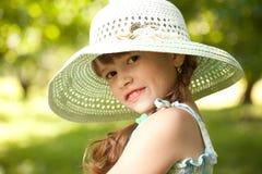 Skämtsam flicka Royaltyfri Bild