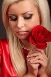 skönhetflicka Royaltyfri Foto