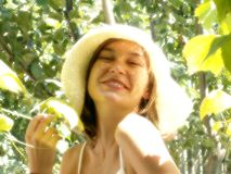 skönhetgyckelvinranka Arkivfoton