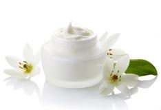 Skönhetsmedelkräm Fotografering för Bildbyråer