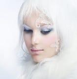 skönhetvinter Royaltyfri Foto