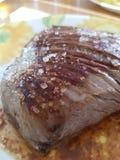 Skończony wołowina stek obraz royalty free