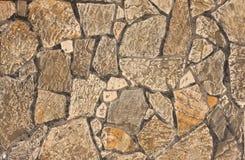 skończona kamienna ściana Zdjęcie Royalty Free