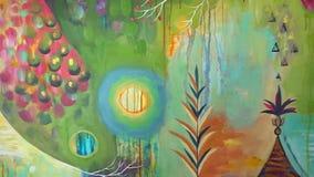 Skończony malować na kanwie, twórczość rysunku projekta sztuki sztuki pięknej koloru stubarwny ptak kwitnie hobby talent zbiory