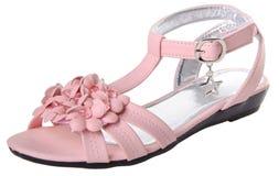 sko barns skor på en bakgrund Royaltyfri Fotografi