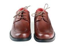 sko för man s Royaltyfri Bild