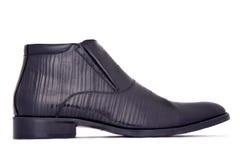 sko för svart man s Royaltyfri Fotografi