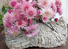 Sko med blommor Arkivfoto