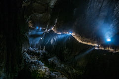 Skocjan Caves, Natural Heritage Site in Slovenia Stock Photography