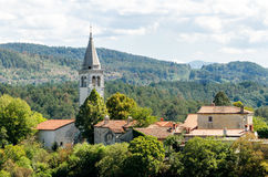 Skocjan (San Canziano) fotografia de stock royalty free
