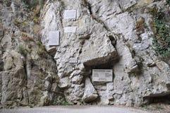 Skocjanske jame (σπηλιά Skocjan), Σλοβενία Στοκ εικόνες με δικαίωμα ελεύθερης χρήσης