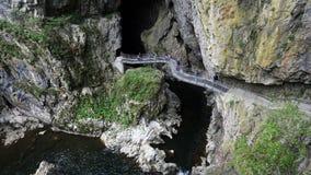 Skocjanske-jame (Skocjan-Höhle), Slowenien stockfotografie