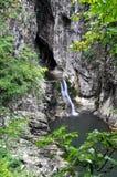 Skocjanske jame (Skocjan-hol), Slovenië Royalty-vrije Stock Fotografie