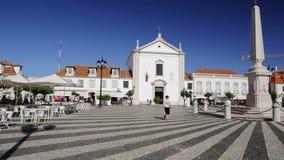 Skoczne ulicy grodzki Vila Real Santo Antonio Portugalia zdjęcie wideo
