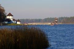 Skocznia - Pijler Olecko Royalty-vrije Stock Afbeeldingen
