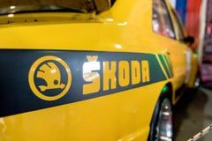 Skoda 120 Венгрия AMTS 2016 Стоковые Фотографии RF