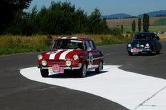 Skoda 1000 MB - 1968 en Tatra 87 1940 Stock Afbeeldingen