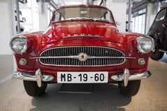 Skoda Auto Museum in Mlada Boleslav Stock Photos