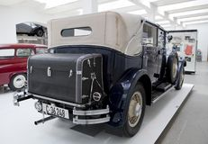 Skoda Auto Museum in Mlada Boleslav Royalty Free Stock Image