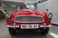 Skoda Auto Museum Stock Images